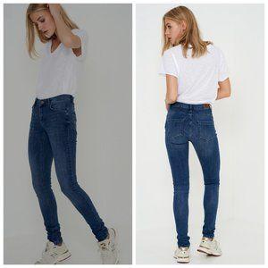 REVOLVE DENIM HUNTER High Rise Celina Skinny Jeans